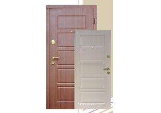 Metāla durvis dzīvoklim un privātmājai